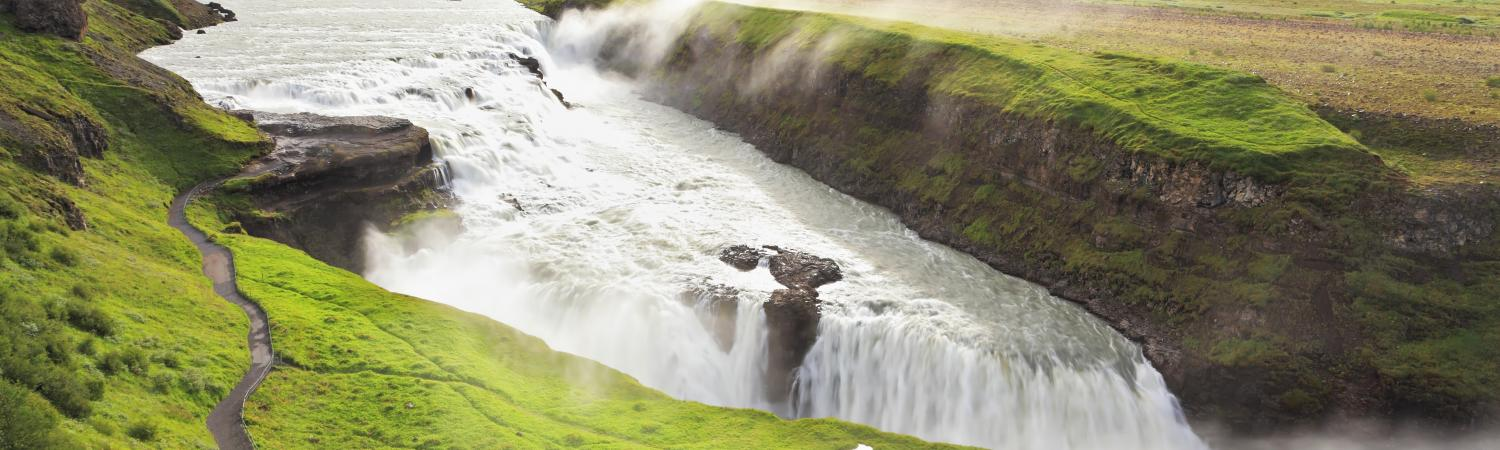 Gullfoss on the Golden Circle