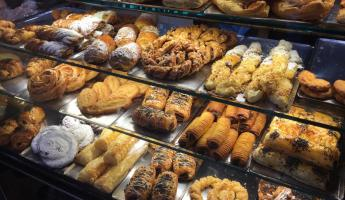 Pastries in a panaderia