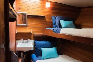 Accommodations aboard the Liberty Clipper