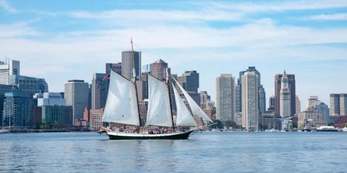 Experience a sailing adventure aboard the Liberty Clipper
