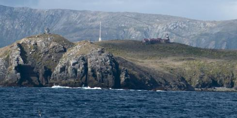 Cape Horn Lighthouse and Albatross Monument