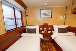Upper Twin Cabin aboard the Galaven I