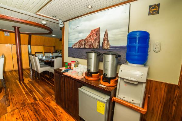 Coffee Station aboard the Galaven I