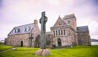 Discover the restored Iona Abbey, Scotland
