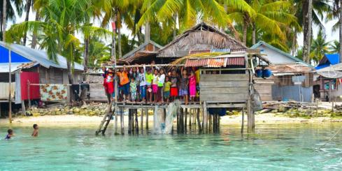 Cruising Adventures! Maluku children