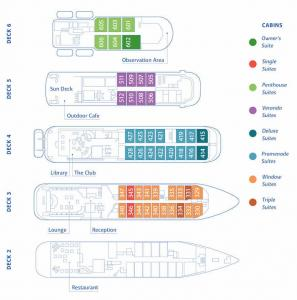 Hebridean Sky Air Cruise deck plan