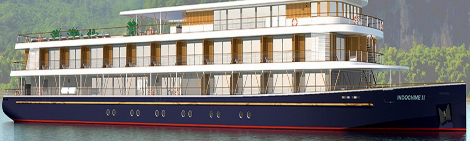 Cruise along the Mekong aboard the RV Indochine II