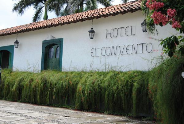 Front entrance of Hotel El Convento