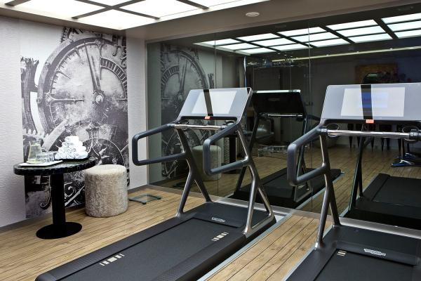 Fitness center on the MS Amasonata