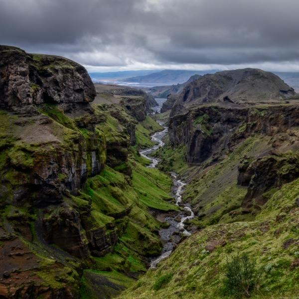 The stunning landscape of Þórsmörk