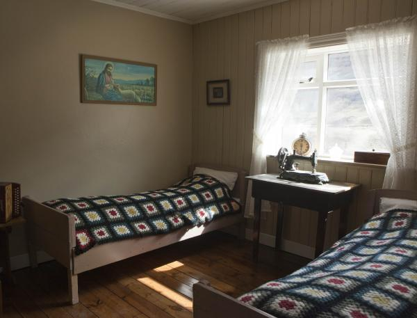 Private double room in the farmhouse