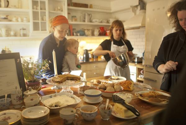 Icelandic cooking in the Wilderness kitchen