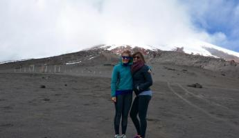 Windy Cotopaxi!