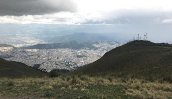 Quito, from the top of the Teleférico.