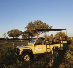 Imvelo vehicle, Hwange National Park
