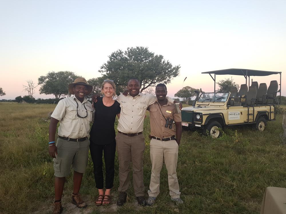 Bomani Boys, Hwange National Park