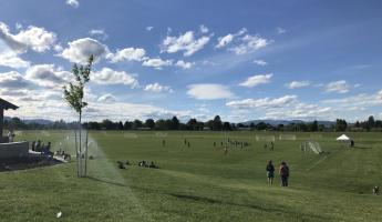 It was a beautiful day at Fort Missoula soccer fields
