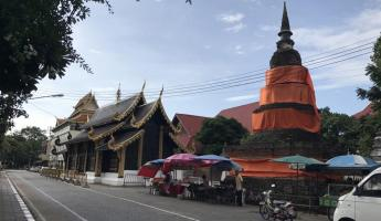 Temples everywhere in Chiang Mai!