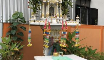 Spirit houses in Chiang Mai