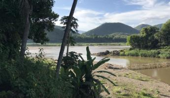 Luang Prabang - where the Nam Khan River meets the mighty Mekong
