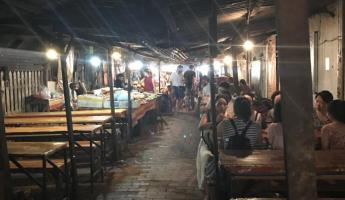 Exploring the Luang Prabang night market - I discovered the food alley!