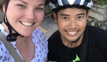 A bike tour in Bangkok - not for the faint of heart!