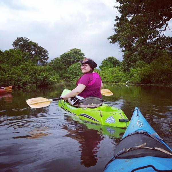 Kayaking on Ometepe Island