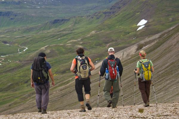 Trekking the East Fjords