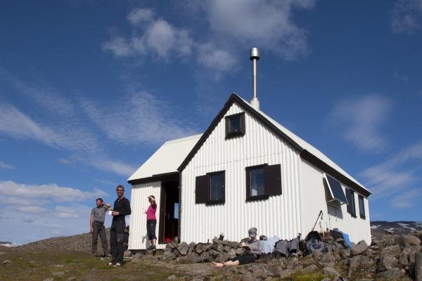Mountain hut in East Iceland