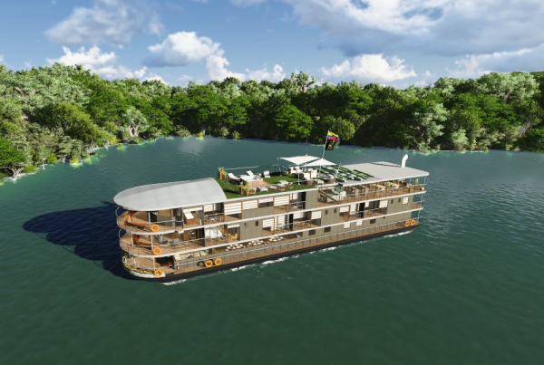 Explore the Amazon Rainforest aboard the Manatee