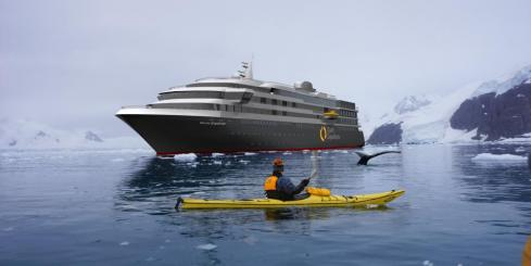 Explore the waterways of Antarctica aboard the World Explorer
