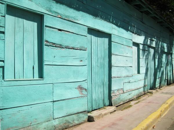 Green Wooden Shack at San Juan del Sur
