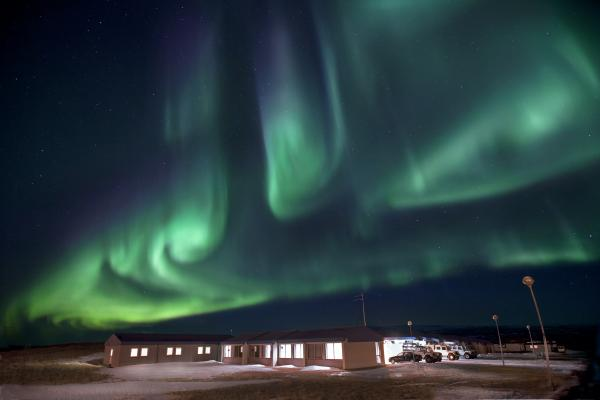 Northern Lights at the Highland Center