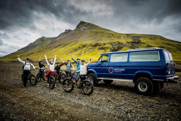 Fat Bike adventures in Iceland!