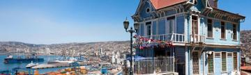 Views from Valparaiso, Chile