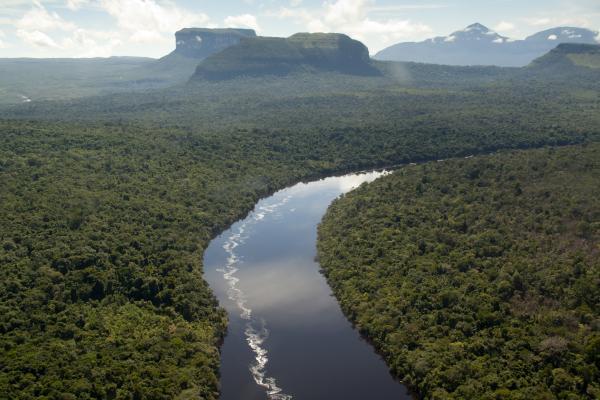 Orinoco River South America & Ca...