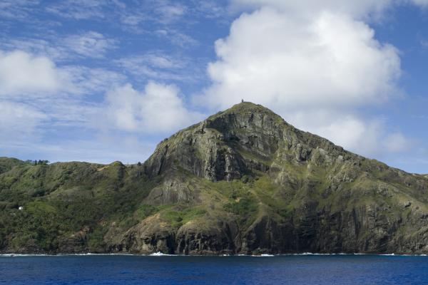 Pitcairn Island in the South Pacific