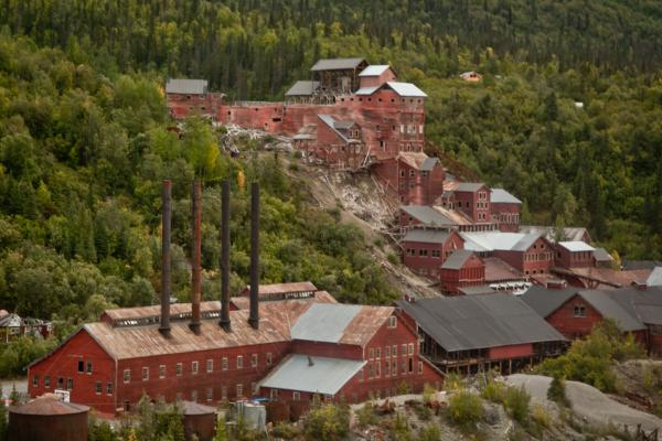 The old Kennicott mine