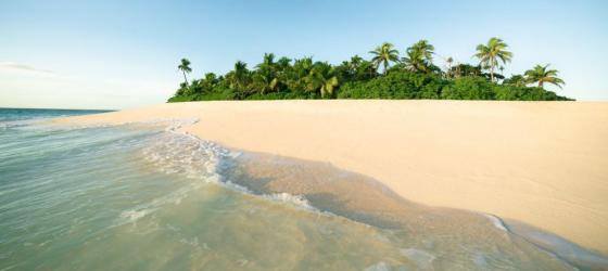 Relax in the magnificent beaches of Fiji
