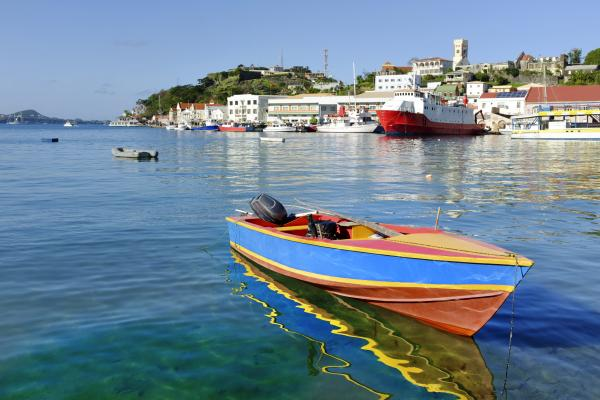 St George's Harbor - Grenada