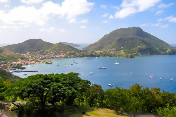 Panorama of Les Saintes