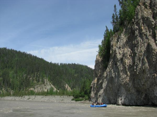 Rafting in the Wrangell - St. Elias area