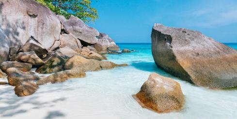 Similan islands beach, Thailand