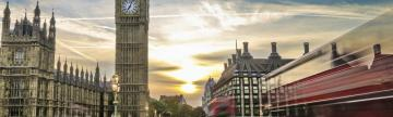 Sunset in Houses of Parliament