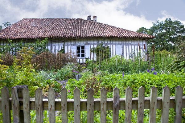 Farm and garden in southern France