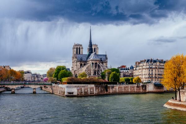 View of Notre Dame in Paris