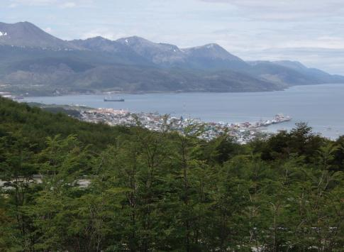 Ushuaia view from Los Aceebos Hotel