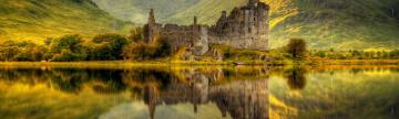 Kilchurn Castle in Scotland