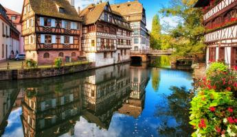 La Petite district in Strasbourg