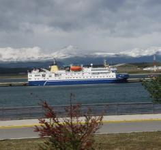 Ocen Nova at Ushuaia port